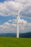 Windenergie royalty-vrije stock foto