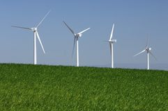 Windenergie Stock Afbeeldingen