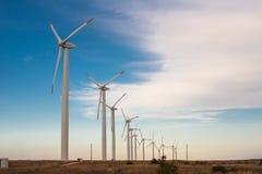Windenergie Stock Foto