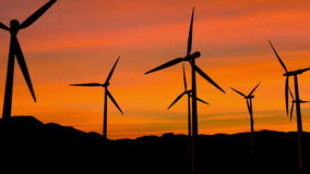Windenergie stock footage