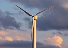 Windenergie elektrische generator Royalty-vrije Stock Afbeelding
