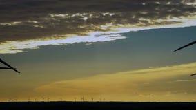 Windenergie, windenergie, windturbine stock video