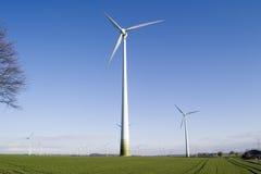 Windenergiegenerator Stockfotografie
