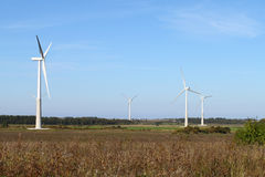 Windenergieinstallatie Stock Afbeeldingen
