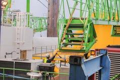 Windenergiekonzern errichtet einen Windpark in Belgien lizenzfreie stockfotografie