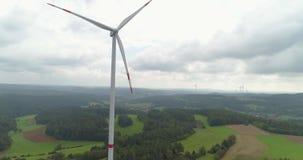 Windenergietechnologie stock video footage