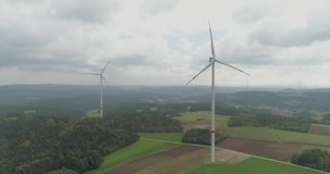 Windenergietechnologie stock video