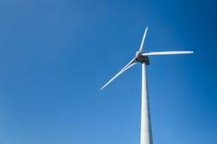 Windenergieturbine Stockfoto