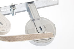 Winder and strap for roller shutter. For home Royalty Free Stock Photos