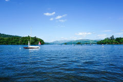 Windermere, περιοχή λιμνών, Ηνωμένο Βασίλειο Στοκ φωτογραφία με δικαίωμα ελεύθερης χρήσης
