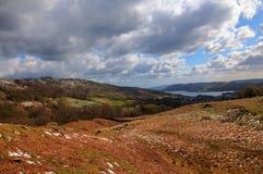 windermere гор озера бортовое Стоковая Фотография RF