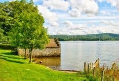 windermere озера boathouse Стоковые Изображения RF