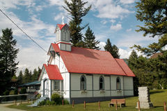 Stolen Church, Windermere B.C. Canada Royalty Free Stock Photos