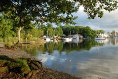 windermere evening Royalty Free Stock Photography