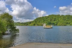 Windermere Ferry Royalty Free Stock Photo