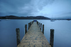 Windermere jetty Stock Photography