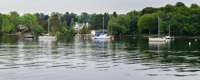 Windermere jeziora okręg Zdjęcie Royalty Free