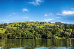 Windermere, Jeziorny Gromadzki Zjednoczone Królestwo Obraz Royalty Free