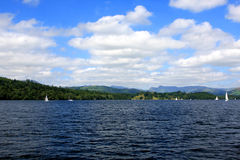 Windermere lake, Cumbria, England Stock Photography