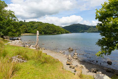 Windermere Lake District England uk on a beautiful summer day with blue sky Royalty Free Stock Image