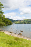 Windermere Lake District England uk on a beautiful summer day with blue sky Stock Photos