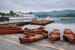 Windermere Lake District Royalty Free Stock Image
