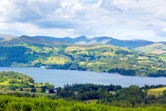 Windermere Lake District National Park England uk Royalty Free Stock Photo