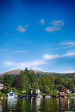 Windermere, Lake District United Kingdom. The picture was taken on the sunny day in England Stock Photos