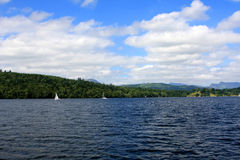 Windermere lake, England Stock Photo