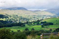 Windermere Lake and Orrest Head. English Lake District National Royalty Free Stock Image