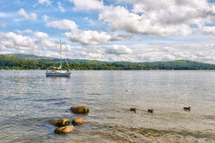 Windermere scenic Royalty Free Stock Images