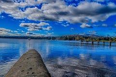 Windermere sjö 4 Royaltyfria Foton
