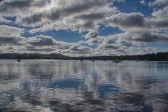 Windermere sjö 3 Arkivfoton