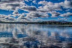 Windermere sjö 1 Arkivbilder