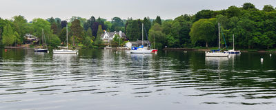 Windermere sjöområde Royaltyfri Foto