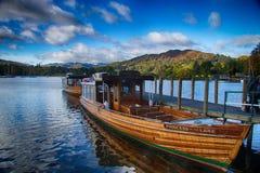 Windermere sjöpir 2 Royaltyfri Foto