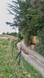 Windey-Weg Lizenzfreies Stockfoto