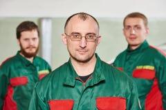 Windfangschlosserarbeitskräfte Lizenzfreies Stockbild