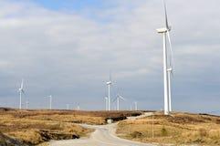 Windfarm Imagen de archivo libre de regalías