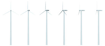Windfarm Stock Photo