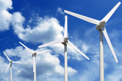 Windfarm Obrazy Royalty Free