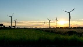 Windfarm Zdjęcia Stock