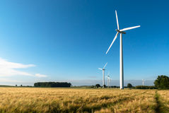 Windfarm Zdjęcia Royalty Free