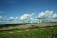 Windfarm Royalty Free Stock Photo
