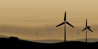 windfarm Obrazy Stock