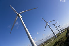Windfarm Royalty Free Stock Photos