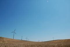 Windfarm Fotos de Stock Royalty Free