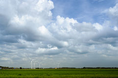 Windfarm 图库摄影
