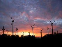 Windfarm imagen de archivo