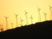 Windfarm Photo stock